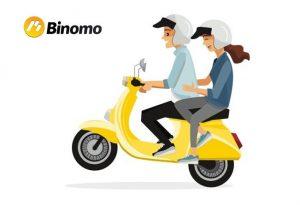 Review Binomo — broker opsi biner di Indonesia